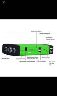 New 82800mAh 4USB Car Jump Stater Emergency Change Power Bank
