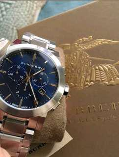 Authentic New Burberry Mens Watch