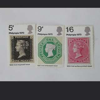Royal mail Philympia stamps