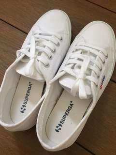 Superga white sneakers (EU37)