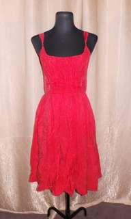 SALE Stringed Silk Dress