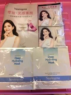 Neutrogena samples five pieces=$30