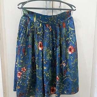 plested skirt