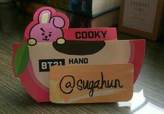 BT21 Cooky Hand Sanitizer Gel