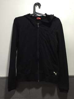 Authentic Puma Black Hoodie Jacket