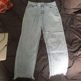 Abrand High Slim Mom Jeans size 13