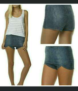 NWT Mambo Denim Shorts 12