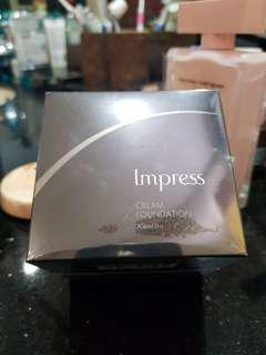 Impress Cream Foundation Kanebo