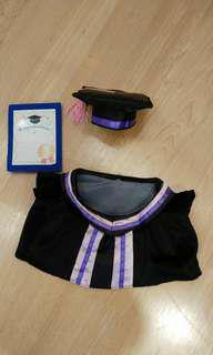 紫色畢業袍