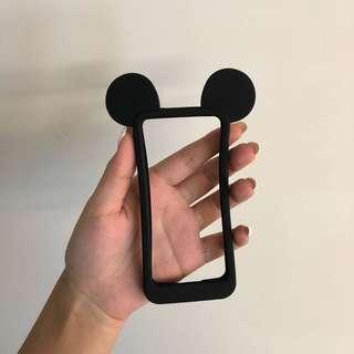 全新iPhone 5s 黑色米奇手機殼/套 現貨一個