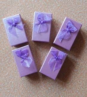 Gift Boxes 5pcs (Free Normal Mail or Self Collect)