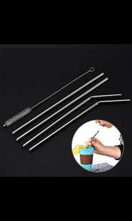 BN Metal Straws and Brushes