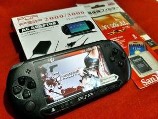 Matte Black PSP Street 8gb v6.60 Downloadable