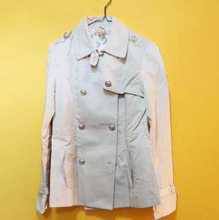 Broken white coat