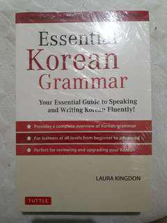 Book for Sale : Korean Grammar Book