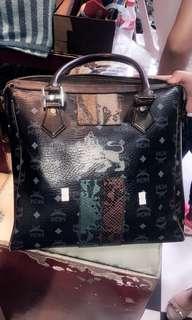 Authentic MCm laptop/ office bag