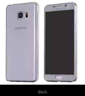 PO Samsung Clear 360 Full Cover Soft Case