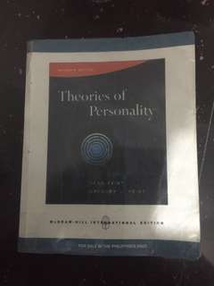 Theories of Personality- 7th Edition by Feist&Feist