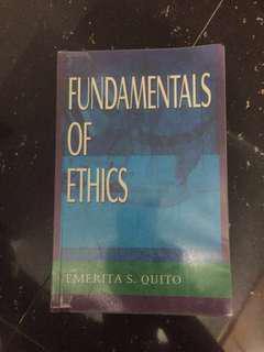 Fundamentals of Ethics by Emerita Quito