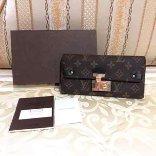 LV Monogram Triangle Wallet Noir Black