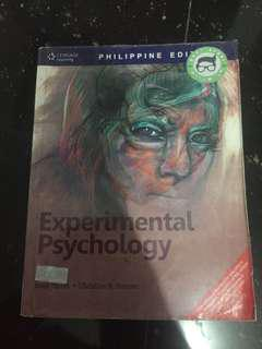 Experimental Psychology by Anne Myers and Christine Hansen