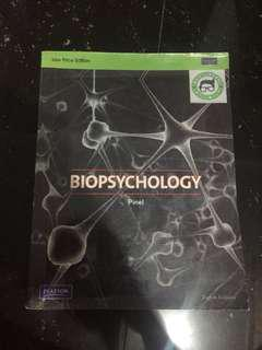 Biopsychology- 8th Edition by John Pinel