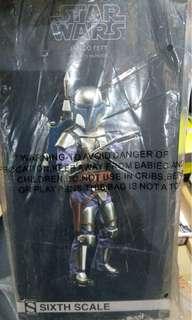 "Sideshow DX12"" MMS Star Wars星球大戰 複製人侵略 賞金獵人 Jango Fett Figure Toys 玩具"