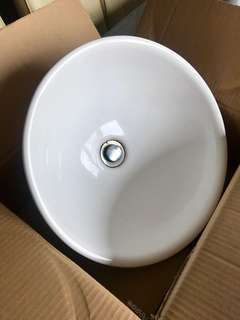 Bathroom/restroom sink basin bowl round (Brand: Jora from Japan)