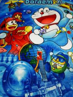 Bed sheet Cartoon Character Doraemon