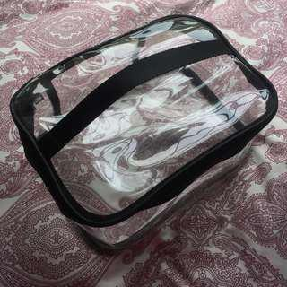 Clear Transparent Makeup Bag