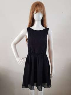 Casual Black Dress H&M