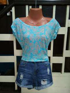 Branded Hanging Top /Summer outfit