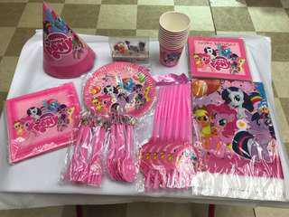 Little Pony Party Set