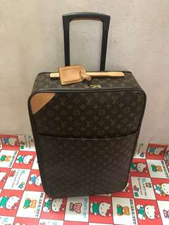 """Authentic Louis Vuitton luggage ,80%new,conditions as pic, Measurements: 14.5"""" L x 7.5"""" W x 23"""" H"""