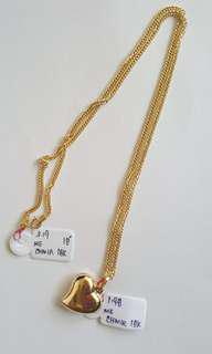 18K NECKLACE WITH PENDANT