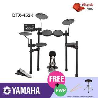 Yamaha Mid Year Sale !!! Yamaha Electronic Drum Set DTX452K