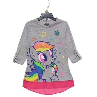 Authentic pony half long sleeve tshirt 4-7yrs old