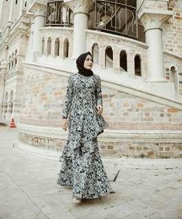 Zalia jacquard dress
