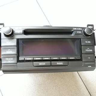 全新Toyota RAV4原廠音響主機,便宜,現貨,豐田,先鋒音響,pioneer,升級,汽車音響