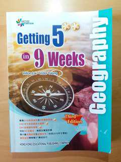 Geog必備參考書《Getting 5**in 9weeks》