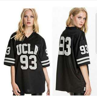 👉👉INstock (XS~5XL) Oversized plus size baseball top jersey tee hiphop swag