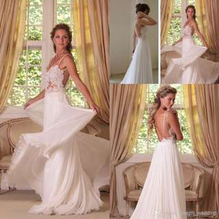 🚚 Custom-made Wanda Borges-inspired Wedding Gown
