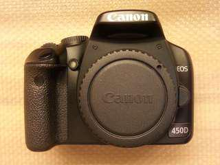 Canon 450D (95% New)