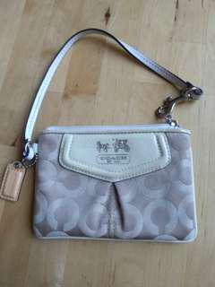 Genuine coach small clutch pouch