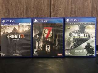 Ps4 Games **SALE**
