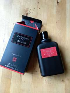 Givenchy gentlemen only cologne 100ml