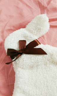 🚚 兔兔絨毛袋 暖暖包 化妝包