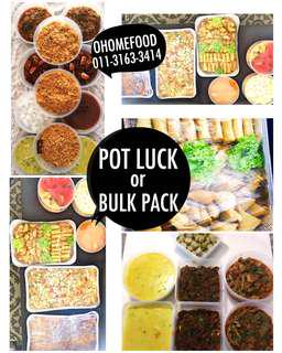 LUNCHBOX & POTLUCK & BULK FOOD
