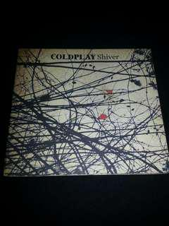 CDS Coldplay. Shiver. Single.