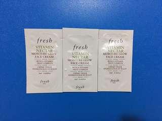 全新 Fresh Vitamin Nectar Moisture Glow Face Cream
